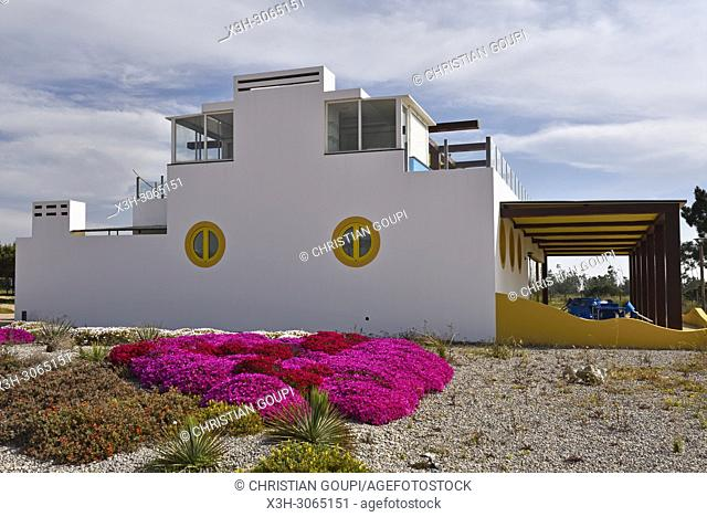 Maresia bar & restaurant beside the beach of Melides, Alentejo region, Portugal, southwertern Europe