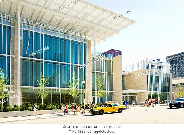 Art Institute of Chicago's new 'Modern Wing'  Designed by Pritzker Prize–winning architect Renzo Piano, the Modern Wing provides a new home for the museum's...
