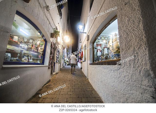 Mojacar white village in Almeria, Spain