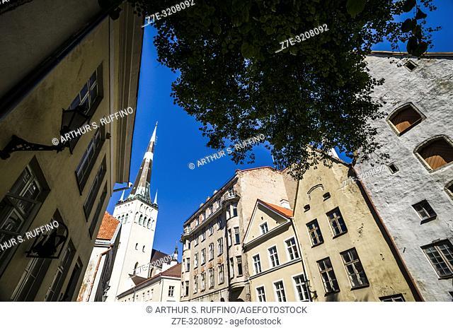 St. Olaf's Church (Oleviste kirik), Old Town, Tallinn, Estonia