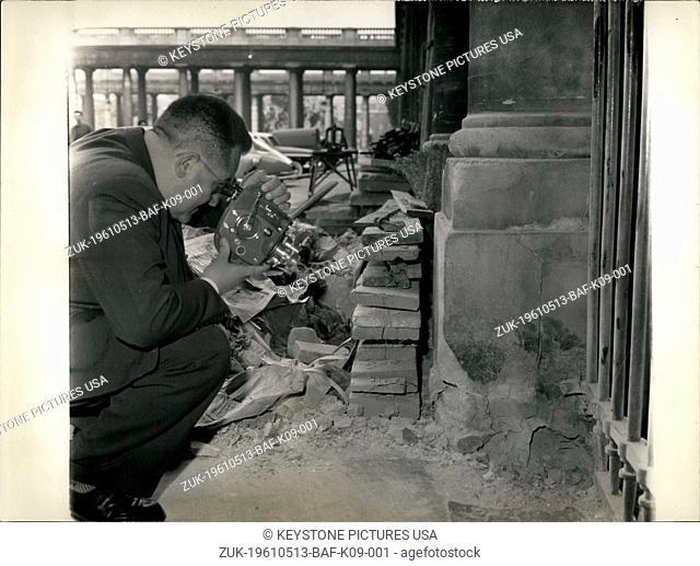 May 13, 1961 - Paris 18th Arrondissement (Credit Image: © Keystone Press Agency/Keystone USA via ZUMAPRESS.com)
