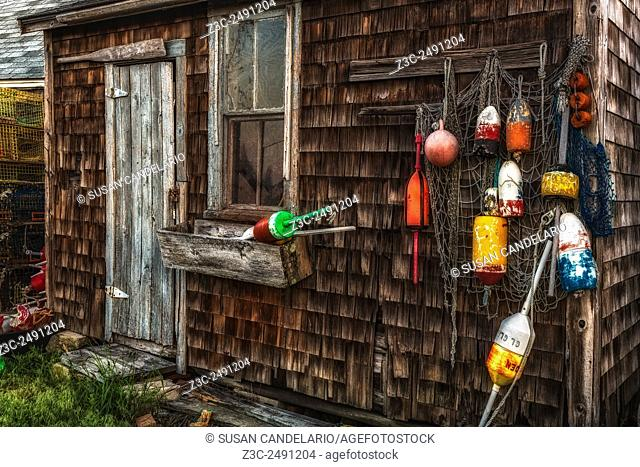 Rockport Lobster Shack - This shack shows signs of being weathered by time but still stands tall and with lots of character