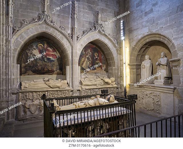Capilla de San Juan. Catedral del Salvador de Santo Domingo de la Calzada. La Rioja. Spain