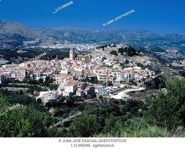 Polop. Alicente province. Comunidad Valenciana. Spain