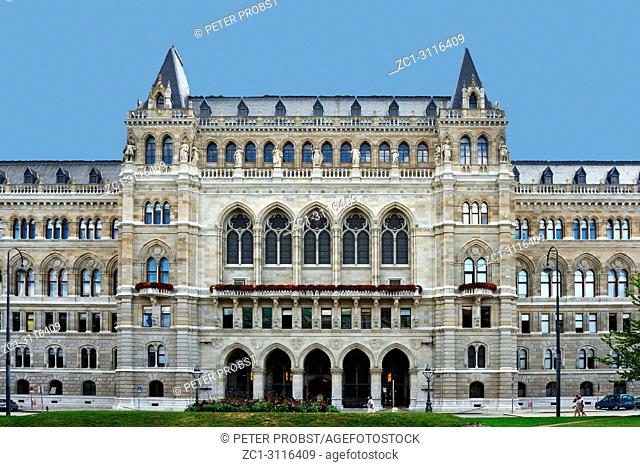 Town hall of the Austrian capital Vienna built from 1872 to 1883 - Austria