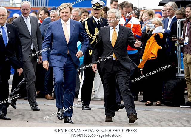 King Willem Alexander of The Netherlands opens the European Athletics Championships at the Museumplein in Amsterdam, The Netherlands, 5 July 2016
