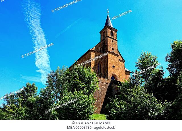 Sanctuary Gügel (Guegel), Scheßlitz (Schesslitz) district Bamberg, Upper Franconia, Bavaria, Germany