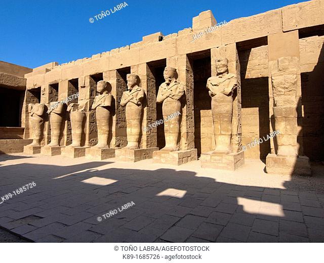 Karnak Temple  Luxor  Upper Egypt