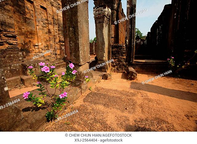 Temple in the Angkor Thom Area, Siam Reap, Cambodia
