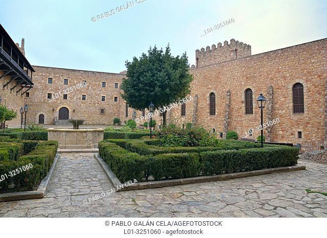 Parador de Sigüenza, guadalajara, Castile-La Mancha, Spain