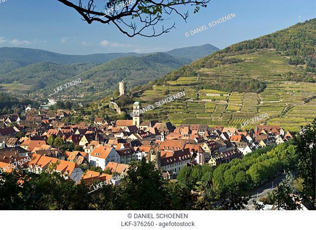 Kaysersberg, near Colmar, Alsace, France