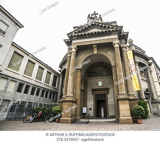 Chiesa di Santa Maria Immacolata delle Grazie (Church of St. Mary of the Graces), Viale Papa Giovanni XXIII, Lower City (Città Bassa), Bergamo, Lombardy, Italy