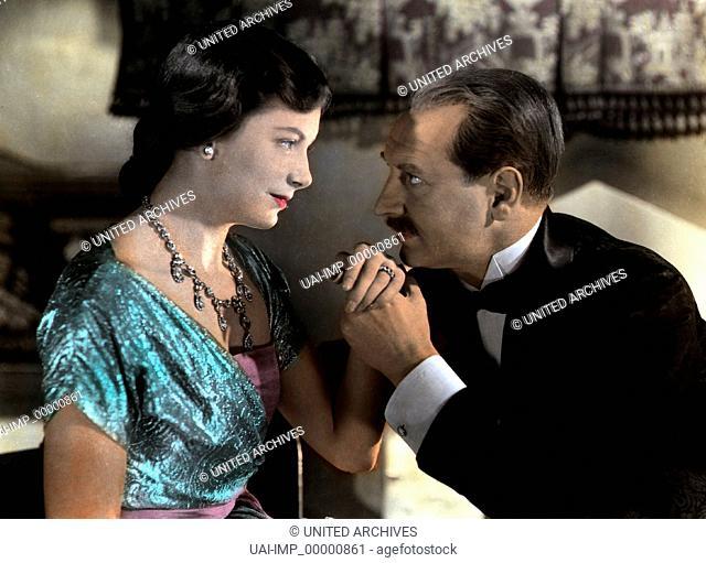 Leben und Sterben des Colonel Blimp, (THE LIFE AND DEATH OF COLONEL BLIMP) GB 1943, Regie: Michael Powell, DEBORAH KERR, ROGER LIVESEY, Stichwort: Handkuß