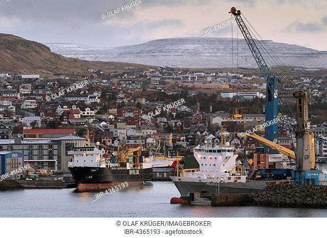 Harbour, Torshavn, Streymoy, Faroe Islands, Denmark