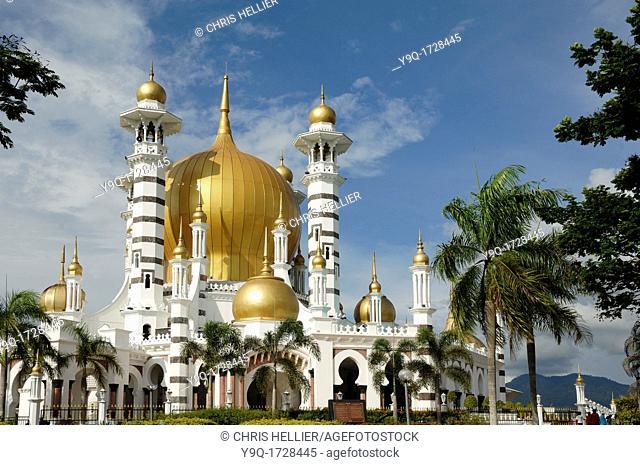 Ubudiah Royal Mosque or Ubudiyah Mosque 1917 Kuala Kangsar Perak Malaysia