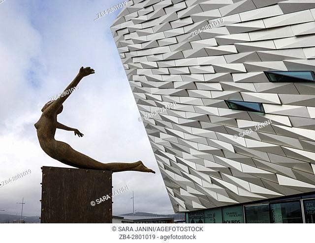 Titanic Museum, Belfast, Ireland, Europe