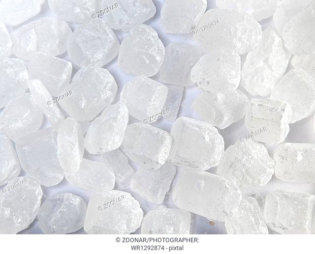 candy white sugar