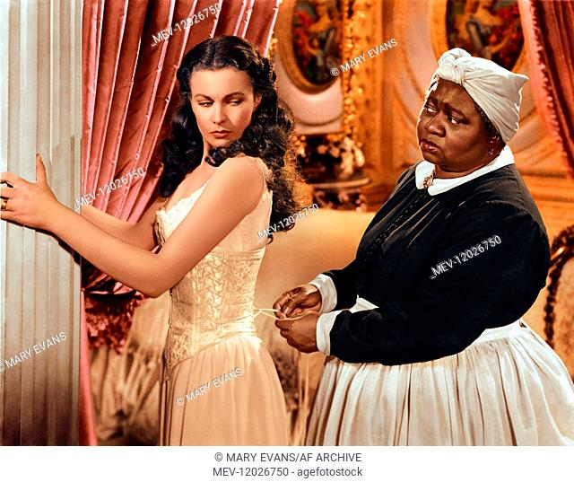 Vivien Leigh & Hattie Mcdaniel Characters: Scarlett O'Hara - Their Daughter, Mammy - O'Hara House Servant Film: Gone With The Wind (USA 1939) Director: Victor...