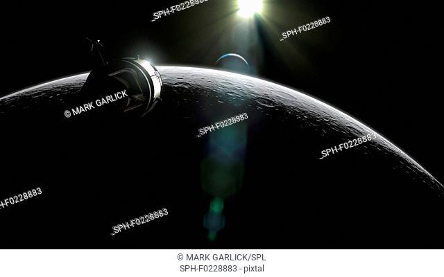 Apollo Command and Service Module, illustration