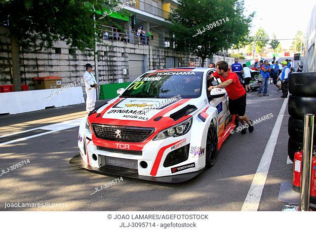 M Homola, Peugeot 308 TCR #86, WTCR Race of Portugal, Vila Real 23-25 de June 2018