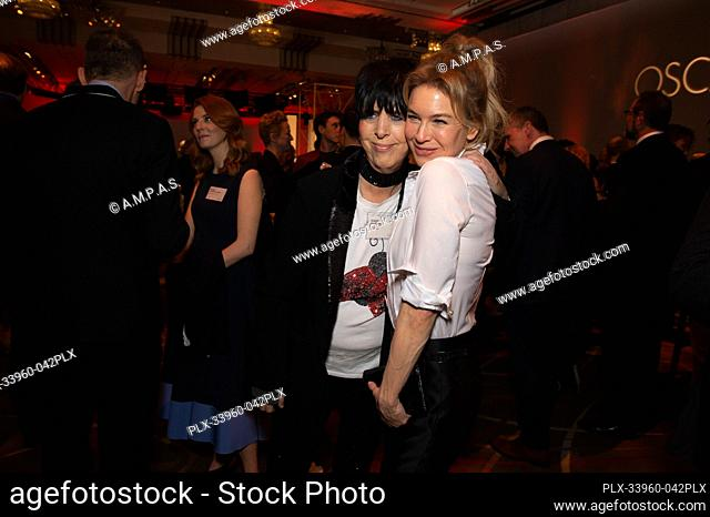 Oscar® nominees Diane Warren and Renee Zellweger at the Oscar Nominee Luncheon held at the Ray Dolby Ballroom, Monday, January 27, 2020