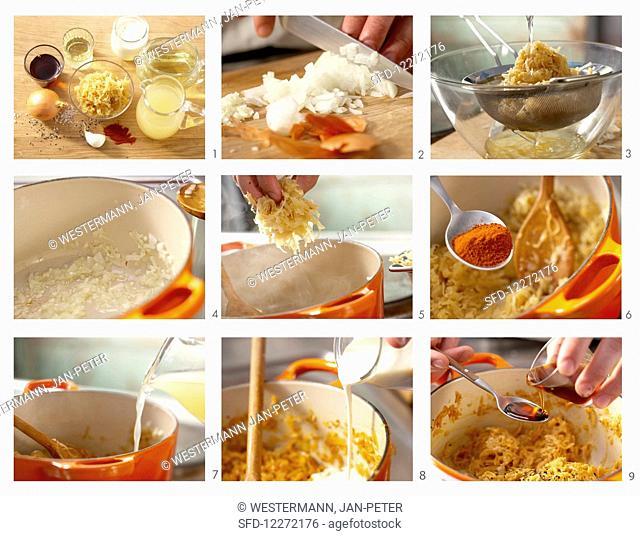 How to make spicy sauerkraut