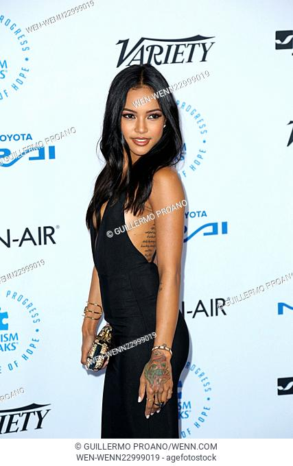 The Autism Speaks to LA Celebrity Chef Gala - Arrivals Featuring: Karrueche Tran Where: Los Angeles, California, United States When: 08 Oct 2015 Credit:...