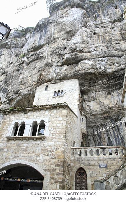 Rocamadour Midi Pyrenees one of of the most beautiful villages in France