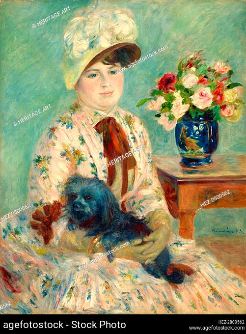 Mlle Charlotte Berthier, 1883. Creator: Pierre-Auguste Renoir