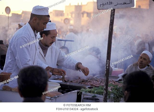 meat, person, grilling, morocco, 3857, people