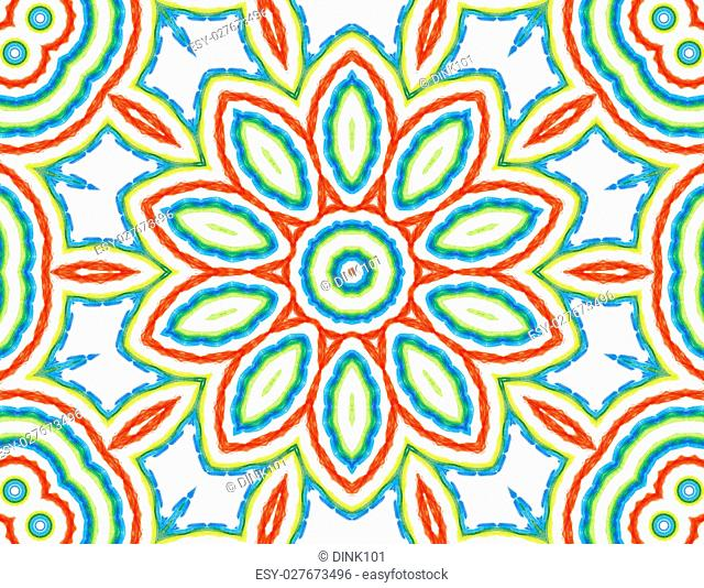 Background with abstract concentric color pattern