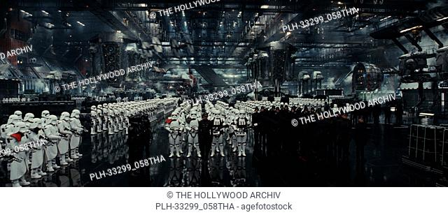 """""""Star Wars: The Last Jedi"""" (2017) First Order hangar. Lucasfilm Ltd"