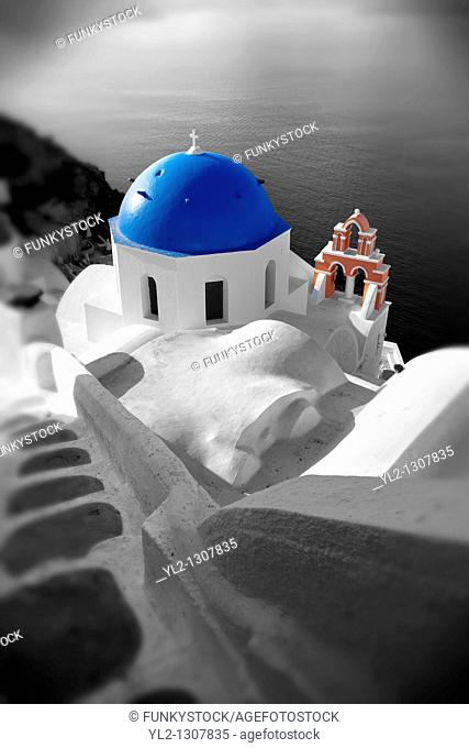 Oia, Ia Santorini - Greek Cyclades islands