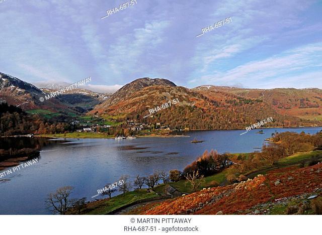 Ullswater, Glenridding, Lake District National Park, Cumbria, England, United Kingdom, Europe