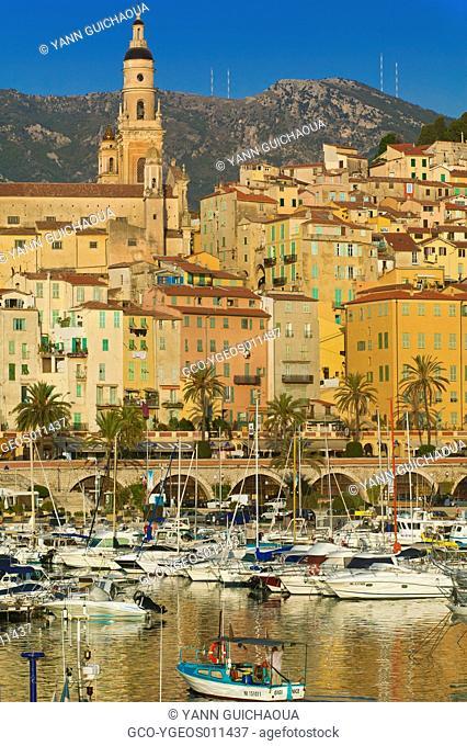 Menton, French Riviera, France