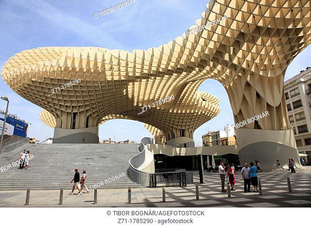 Spain, Andalusia, Seville, Metropol Parasol Building