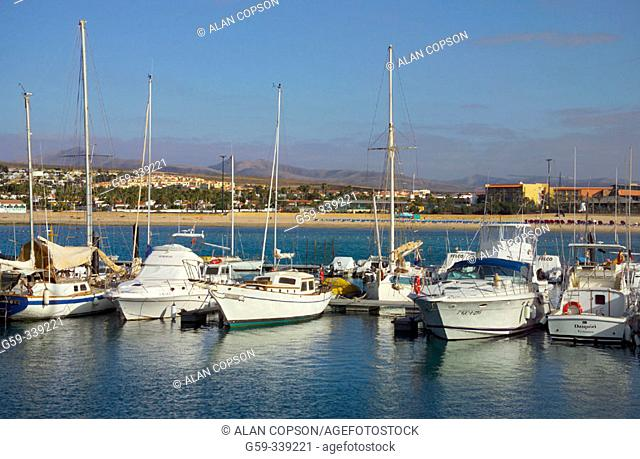 Caleta de Fustes. Fuerteventura. Canary Islands. Spain