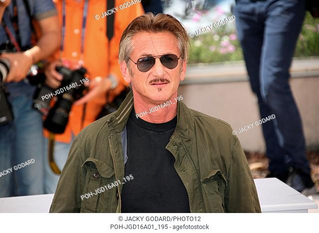 """Sean Penn Photocall for the film """"""""The Last Face"""""""" 69th Cannes Film Festival May 20, 2016"""