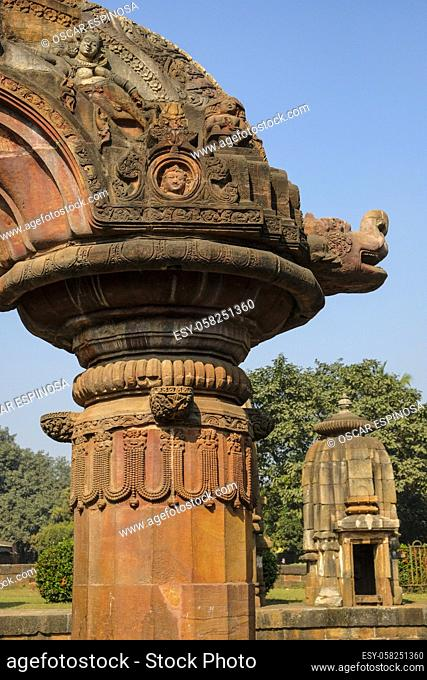 Mukteshwar Temple is a 10th century Hindu temple dedicated to Shiva, located in Bhubaneswar, Odisha, India