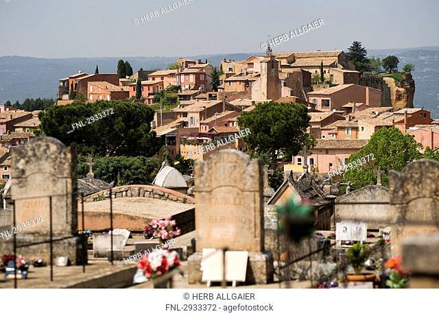 Roussillon, Provence - Alpes-Cote d Azur, France