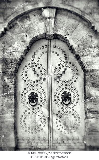 Old Grey Doorr, Istanbul, Turkey