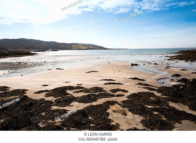 Beach on Loch Eishort, Isle of Skye, Hebrides, Scotland