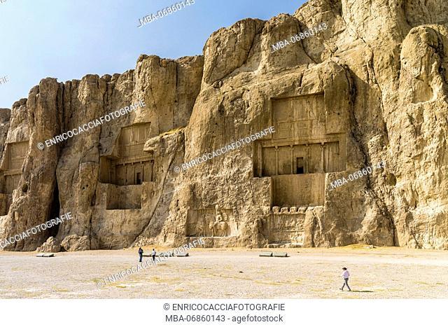 Monumental rock tombs Naqsh E Rostam