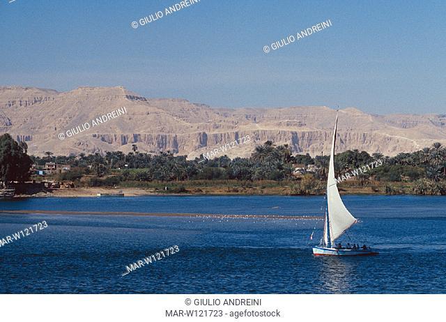 africa, egypt, luxor, nile river