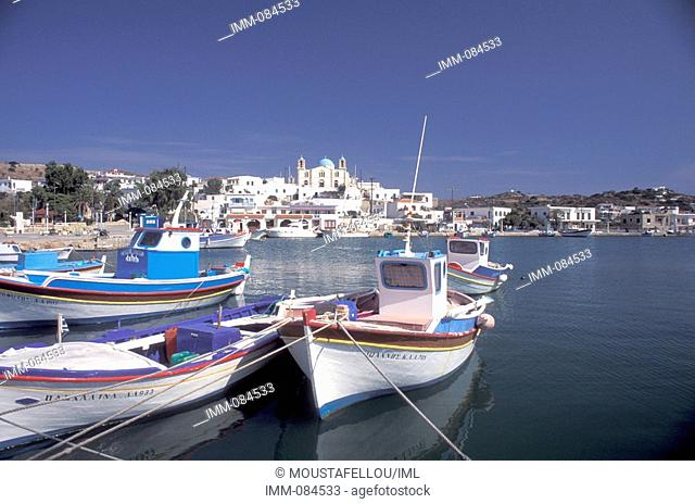 Little Lipsi of the Dodecanese Lipsi port