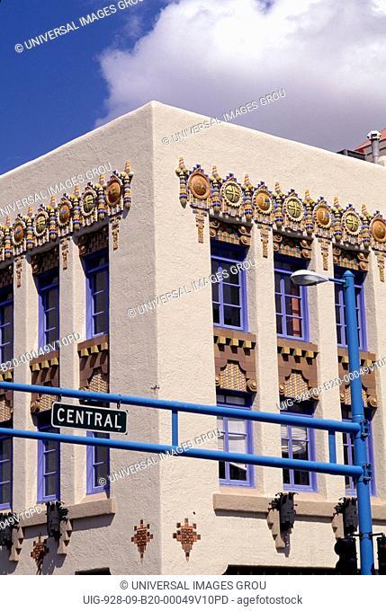 New Mexico, Albuquerque. Route 66. Kimo Theatre