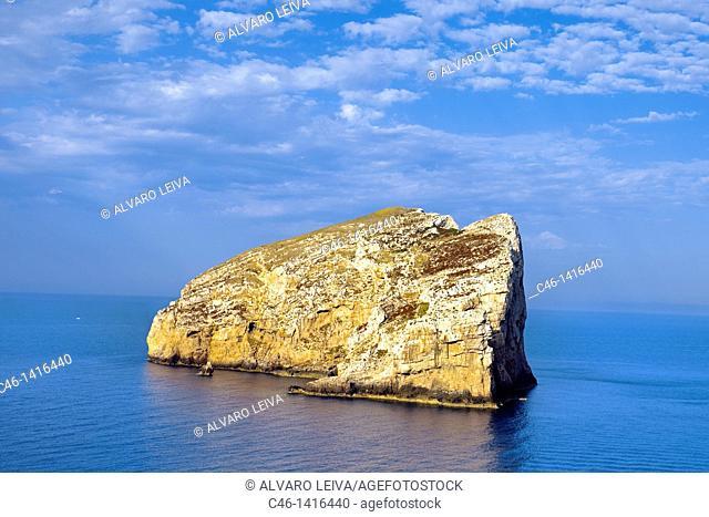 Isola Foradada, Capo Caccia cape, Alghero, Sardinia, Italy