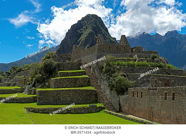 Ruins of Machu Picchu, UNESCO World Heritage Site, Peru