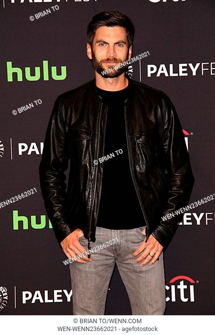 Celebrities attend 33rd annual PaleyFest Los Angeles - 'American Horror Story: Hotel' at The Dolby Theater. Featuring: Wes Bentley Where: Los Angeles