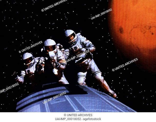 Mission To Mars, (MISSION TO MARS) USA 2000, Regie: Brian de Palma, Stichwort: Raumanzug, Astronaut, Weltraum
